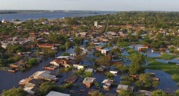 Cámara Baja declaró emergencia para Asunción y cinco departamentos
