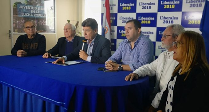 PLRA apoya pérdida de investidura de Dionisio Amarilla