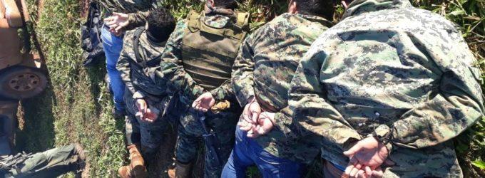 Imputación y prisión preventiva para los 12 detenidos en el operativo Espada