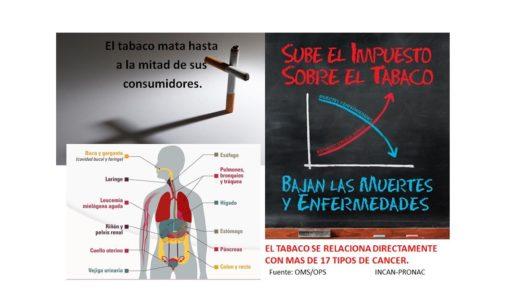 Ministro de Salud reitera su posición a favor de mayor impuesto al tabaco