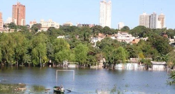 El río Paraguay bajará a mediados del mes de junio