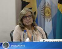 Estado desestima querella contra Cristina Arrom