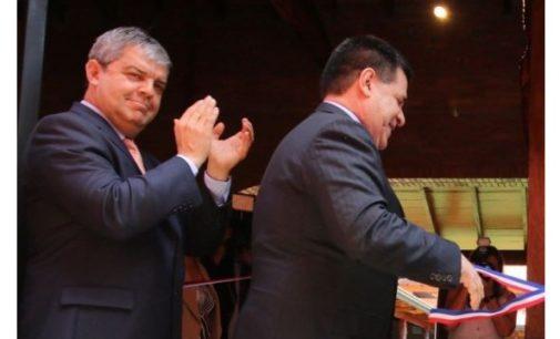 """Ojalá hubiera tenido un presidente como Horacio Cartes cuando yo era intendente"": Enrique Riera"