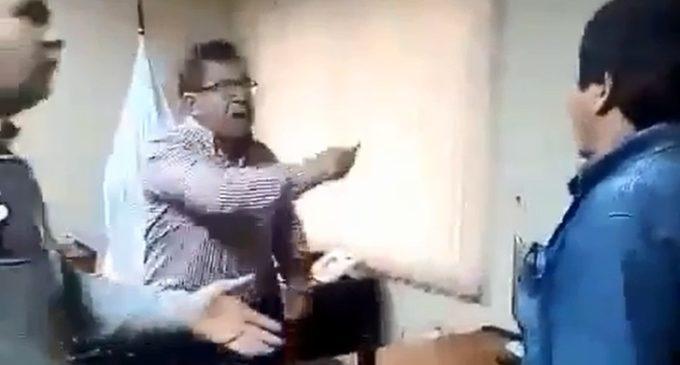 Nicanor se desata y protagoniza acalorada discusión con poblador de Ayolas