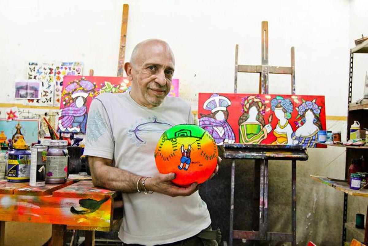 Falleció Ricardo Migliorisi, reconocido artista paraguayo