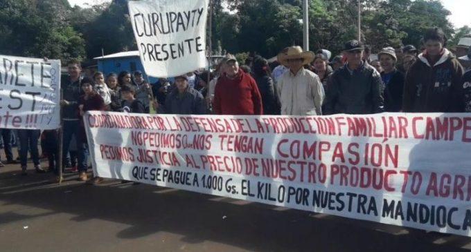 Campesinos de San Pedro retomaron manifestaciones ante incumplimiento de Gobierno