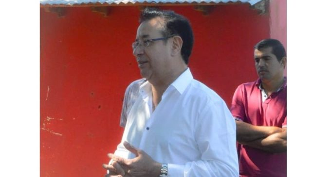 Campesinos repudian presencia de Miguel Cuevas en acto del MAG