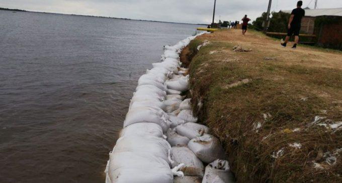 Río Paraguay inició proceso de descenso