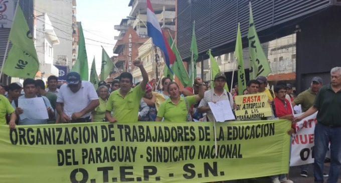 OTEP prepara manifestación a nivel nacional
