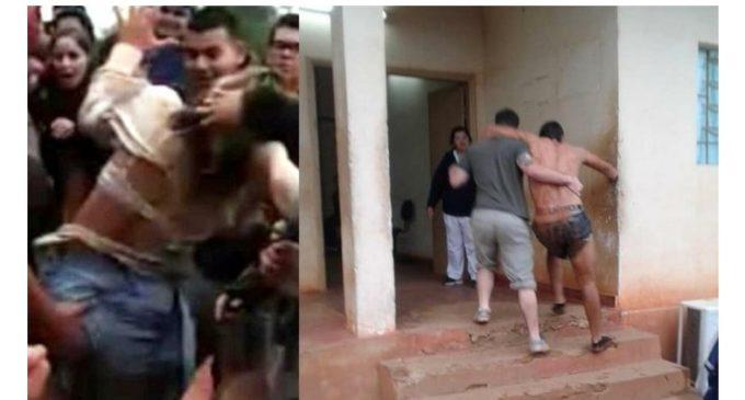 """Cuatro jóvenes con órdenes de captura tras violento """"bautismo"""" en Caazapá"""