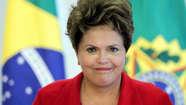 Dilma sube, la bolsa se desploma