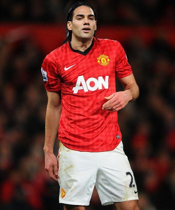 Falcao jugará en el Manchester United