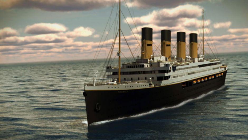El Titanic II zarpará en 2018