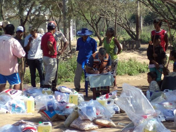 Inician campaña de recolección de víveres para comunidades más necesitadas del norte