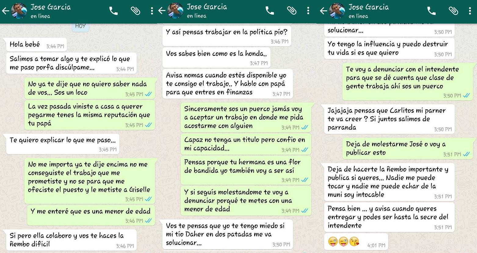 whatsapp denuncia