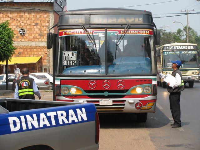 DINATRAN anuncia que no habrá liberación de horario de buses en Semana Santa y se espera más medidas