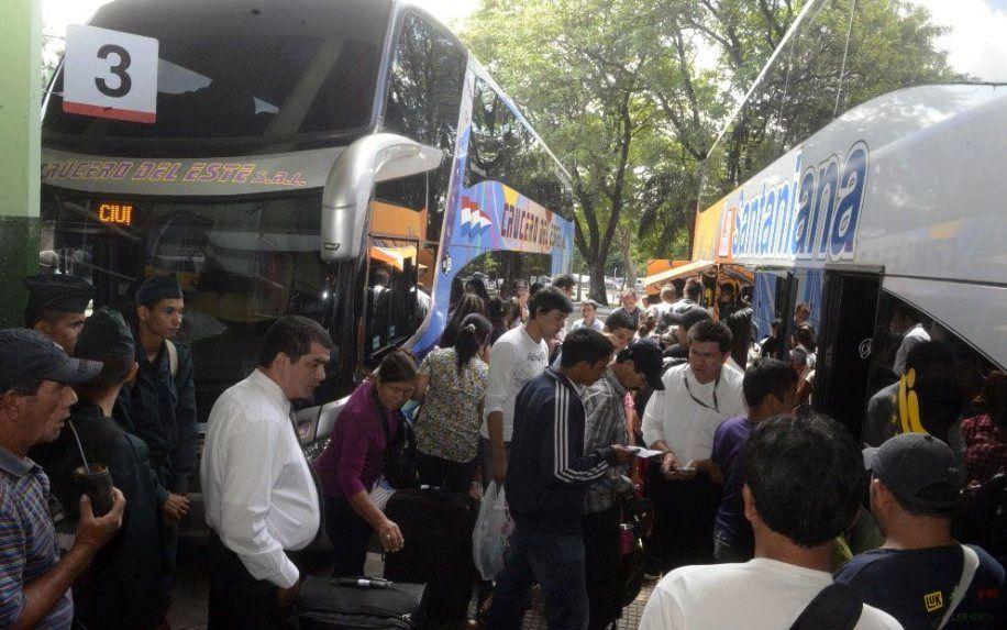 Terminal de Ómnibus de Asunción intensifica control de coronavirus