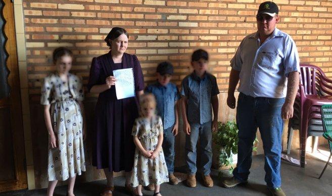 Esposa de Abraham Fehr ruega prueba de vida al EPP