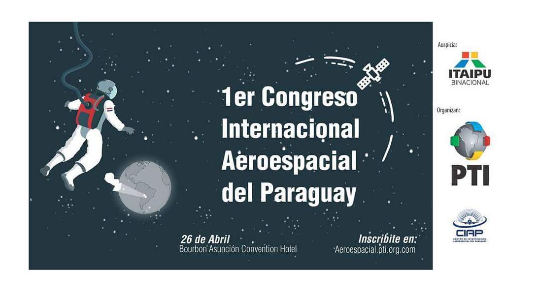 Itaipú prepara Congreso Internacional Aeroespacial del Paraguay