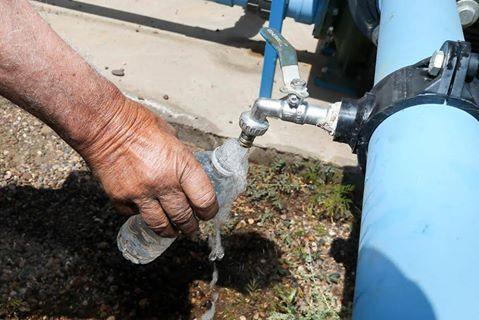 Yacyretá construye 29 conexiones de agua en Caazapá