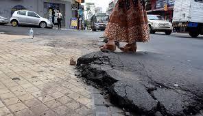 """""""1.800 baches en Asunción incluyen deformaciones en el asfalto"""", aclara Municipalidad"""