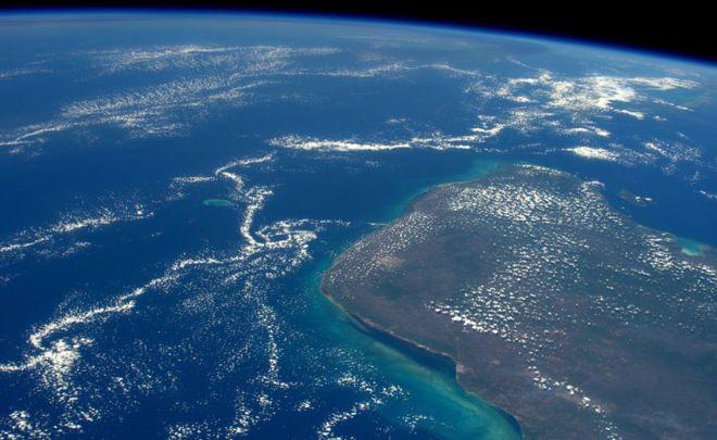 El cráter bajo el Golfo de México que esconde las claves sobre el origen de la vida