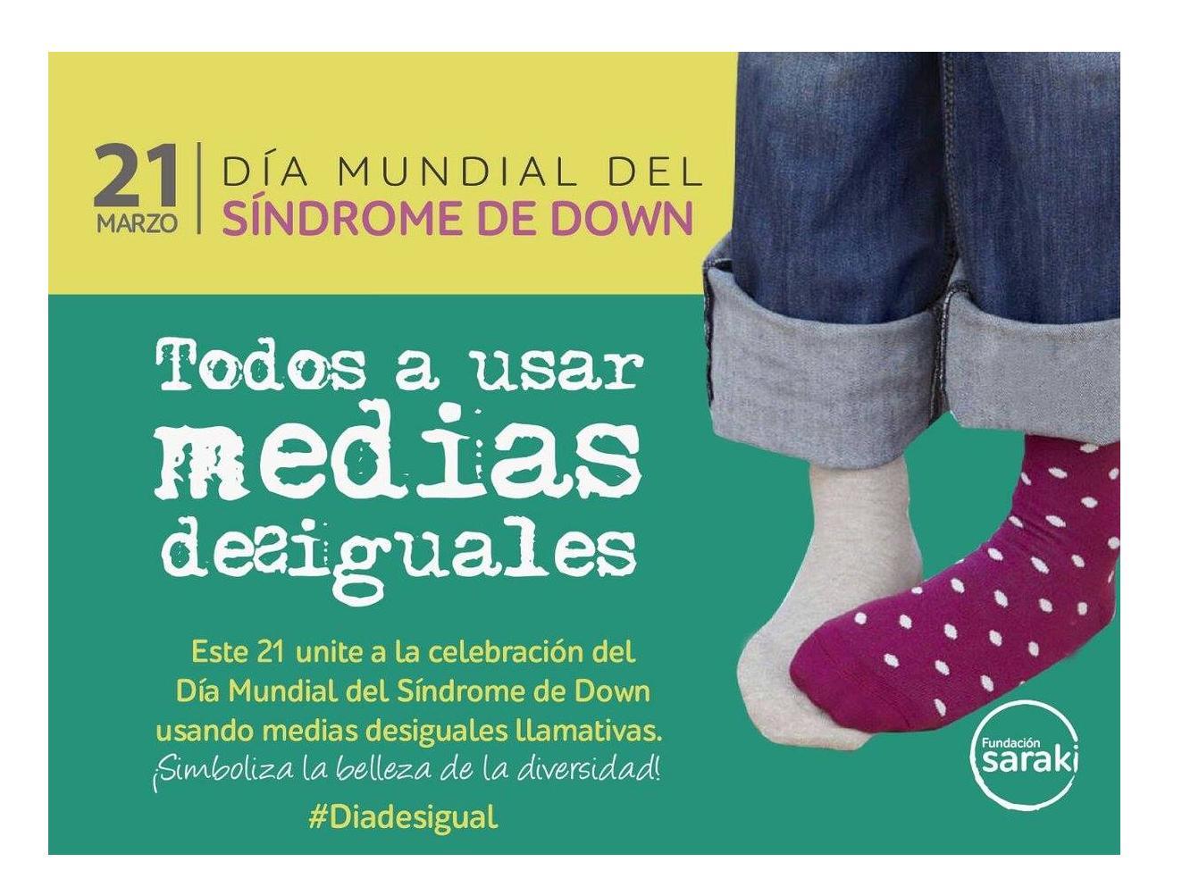 #DíaDesigual: Mañana se recuerda el Día Mundial del Síndrome de Down