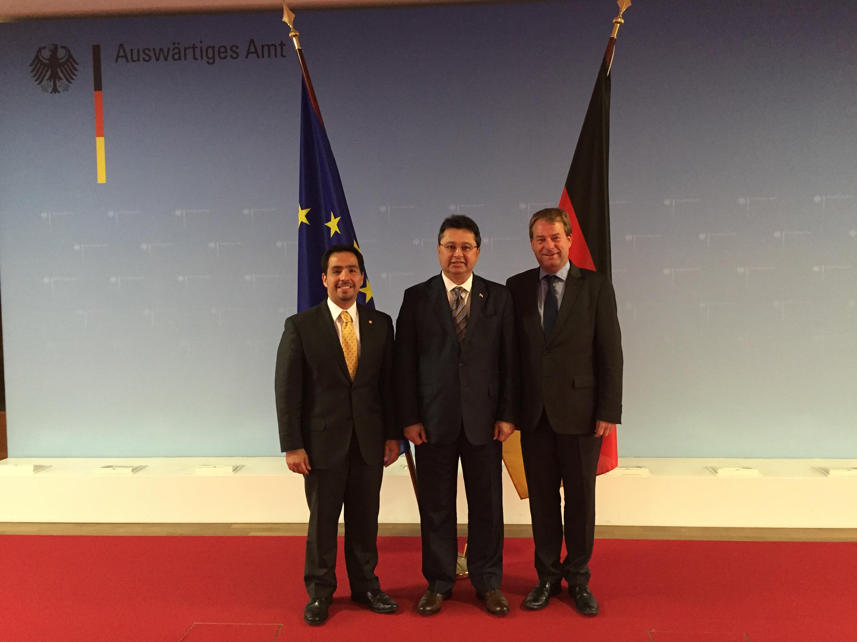 Paraguay y Alemania buscan fortalecer relaciones bilaterales