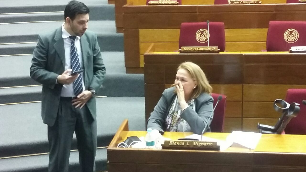Mignarro admite que su cambio de postura ya no afecta a la enmienda