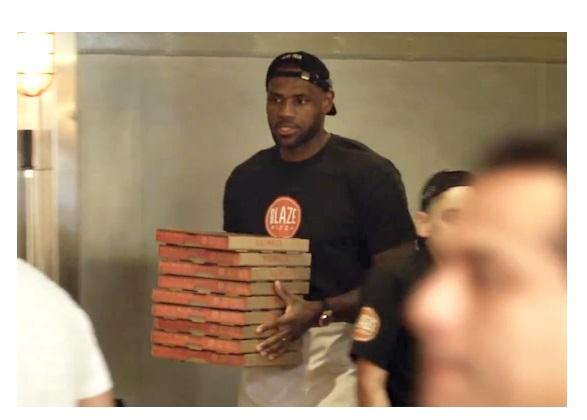 Las pizzerías de LeBron James son un total éxito en Estados Unidos