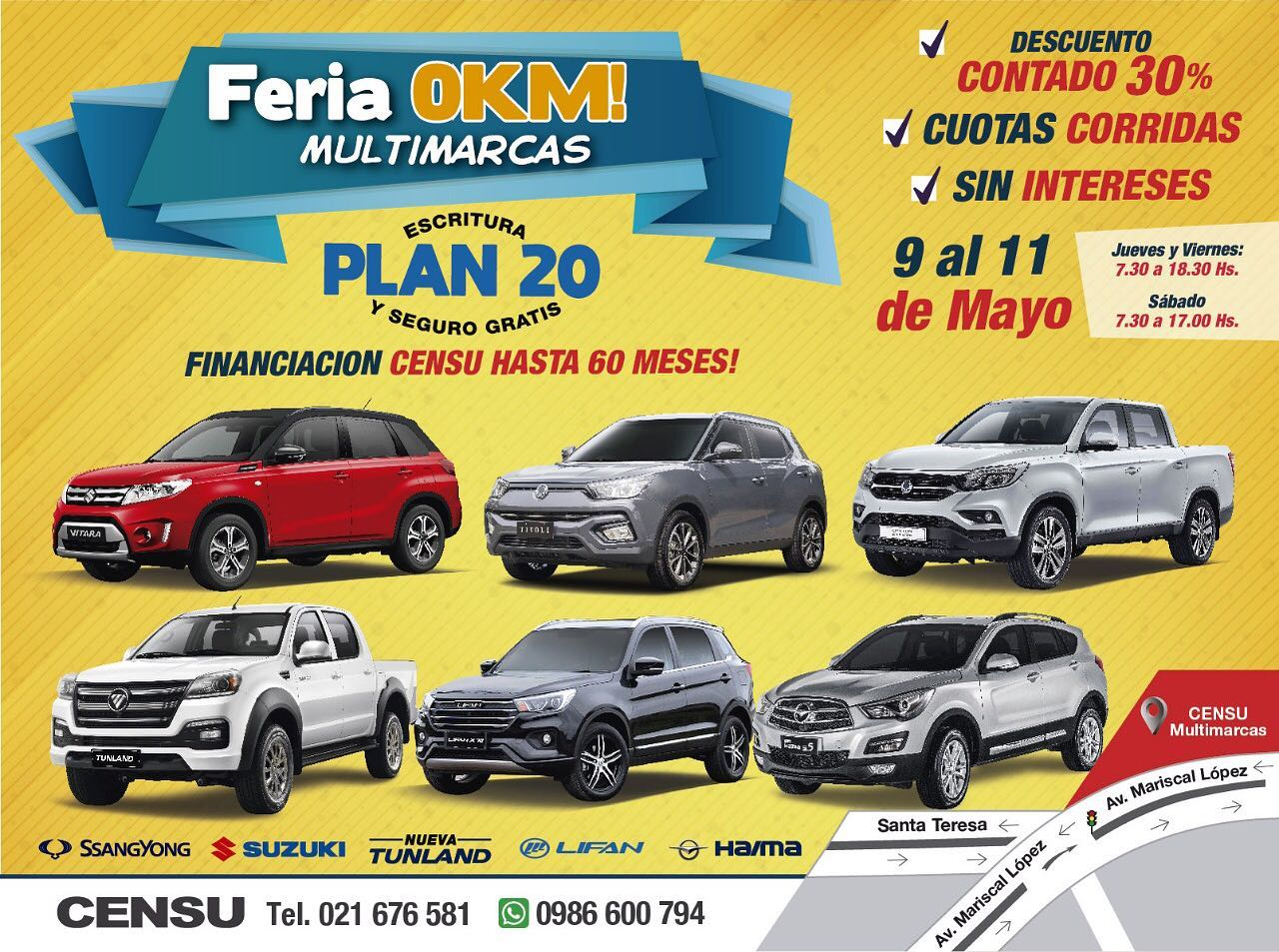 Nueva Feria Multimarcas de Censu