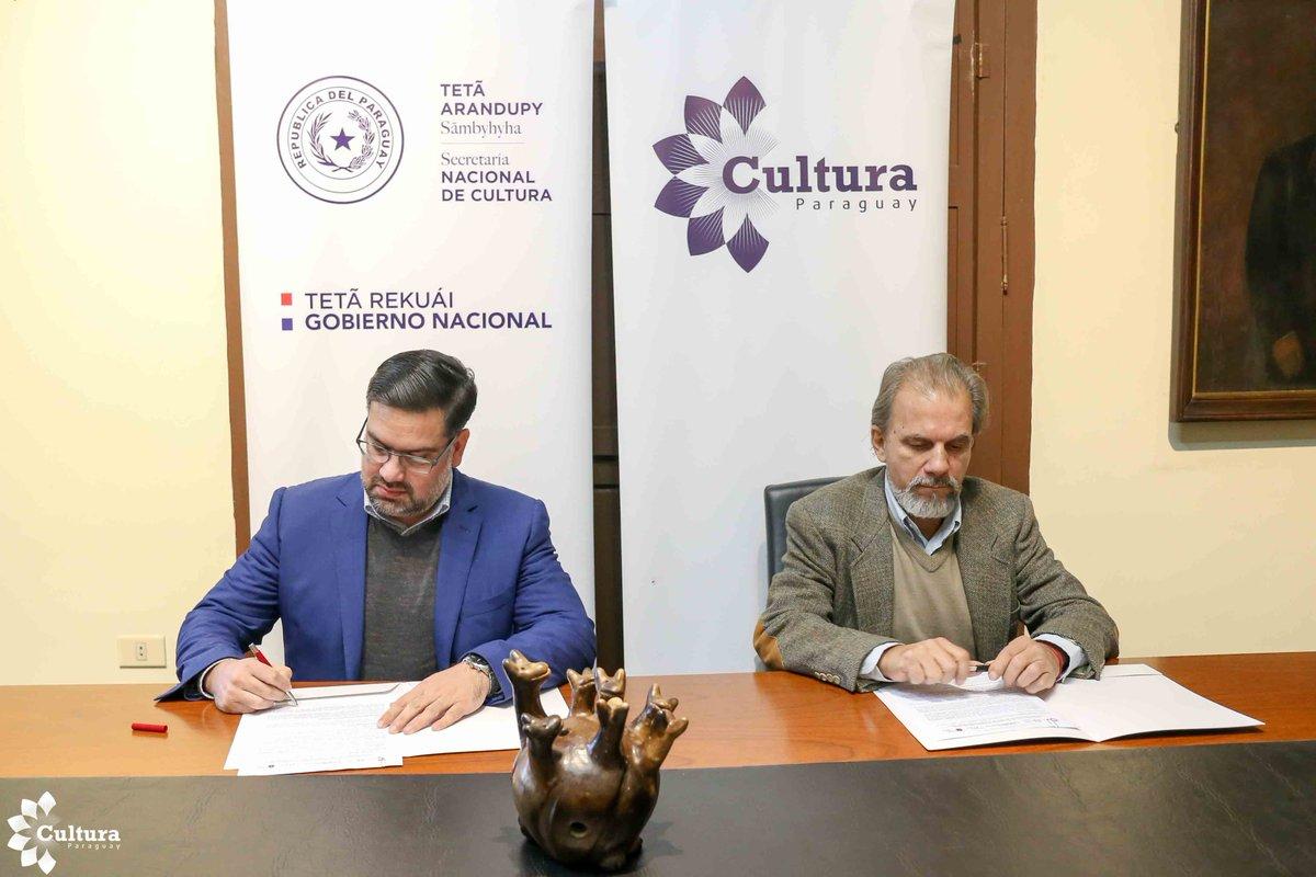 Secretaría de Cultura y municipalidad de Yaguarón proyectan impulsar protección del patrimonio cultural