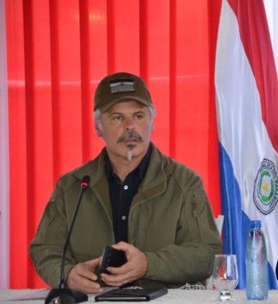 Giuzzio resalta su primer año como ministro de SENAD