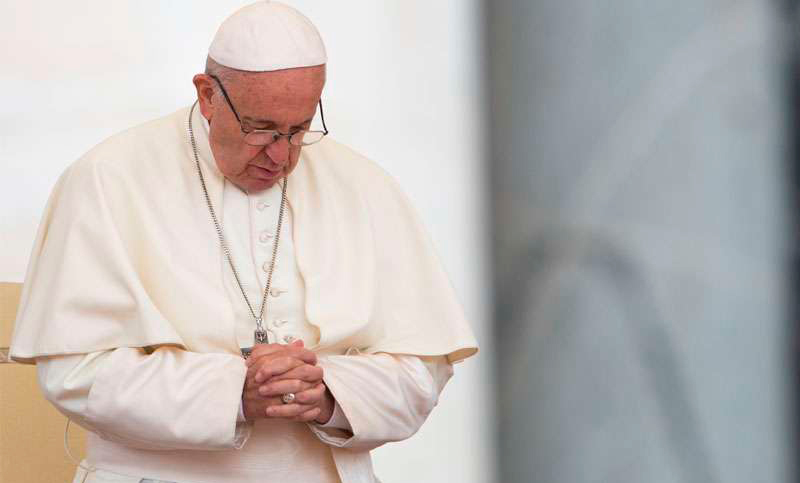 Papa Francisco reza por víctimas de masacres en Estados Unidos