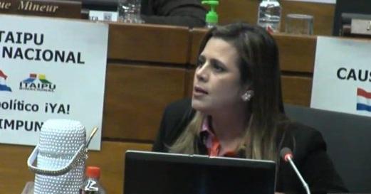 """Acta Bilateral: Kattya González denuncia exclusión de comisión y acusa """"operación"""" de Velázquez"""