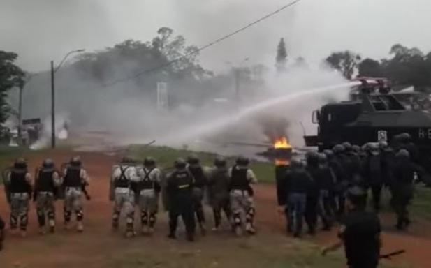 Fiscalía libera a tomateros detenidos tras manifestación en Caaguazú - launion.com.py