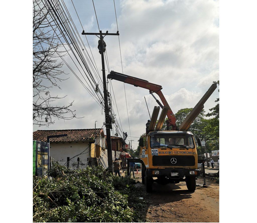 Ñemby, Villa Elisa y San Antonio, aún con problemas de energía eléctrica tras tormenta - launion.com.py