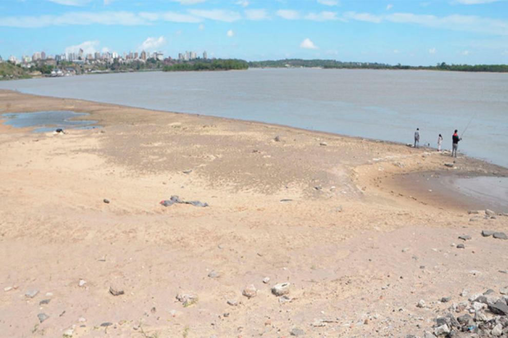 Preocupa bajo nivel del río Paraná para navegabilidad