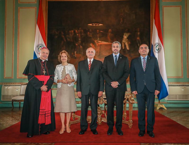 Exsenador de Patria Querida juró como nuevo embajador paraguayo ante la Santa Sede