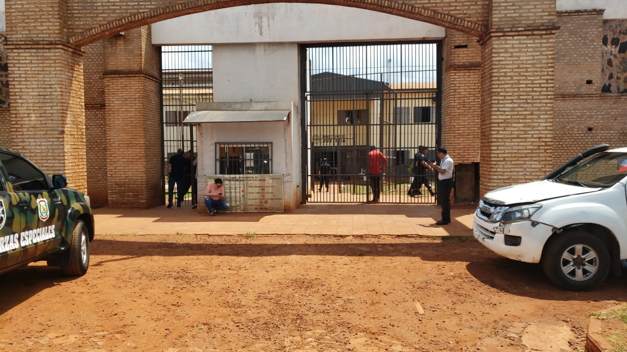 Incidentes en cárcel de Pedro Juan Caballero