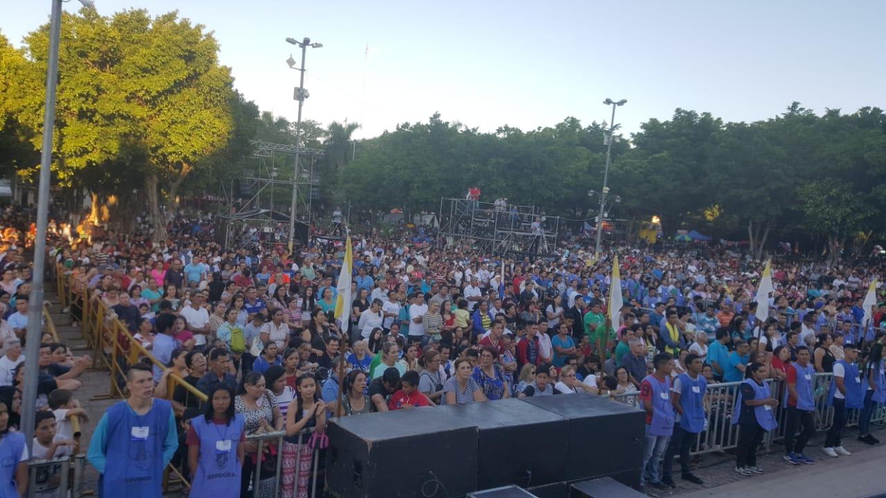 Va aumentando el número de personas que llegan a la Villa Serrana