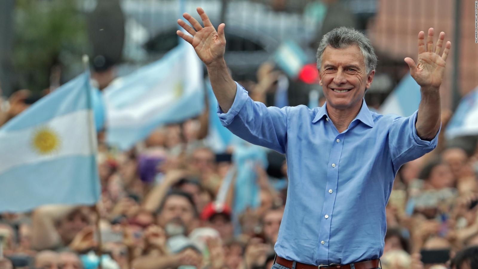 Miles despidieron al presidente Mauricio Macri en Argentina