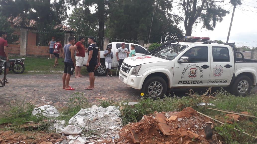Asesinan a un hombre frente a su casa en Capiata.