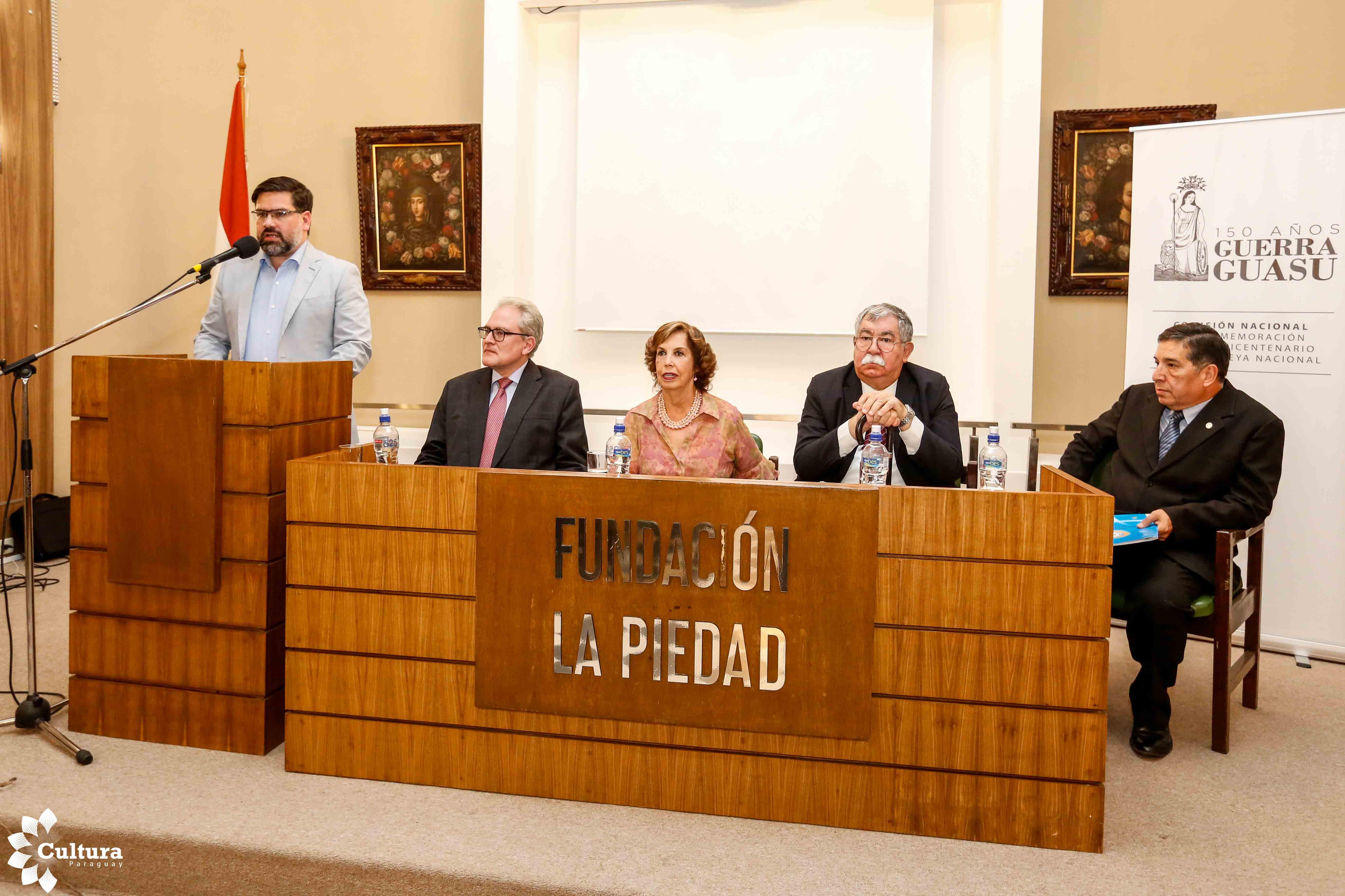Con gran éxito se realizó el primer día de Conversatorio sobre los 150 años de Cerro Corá