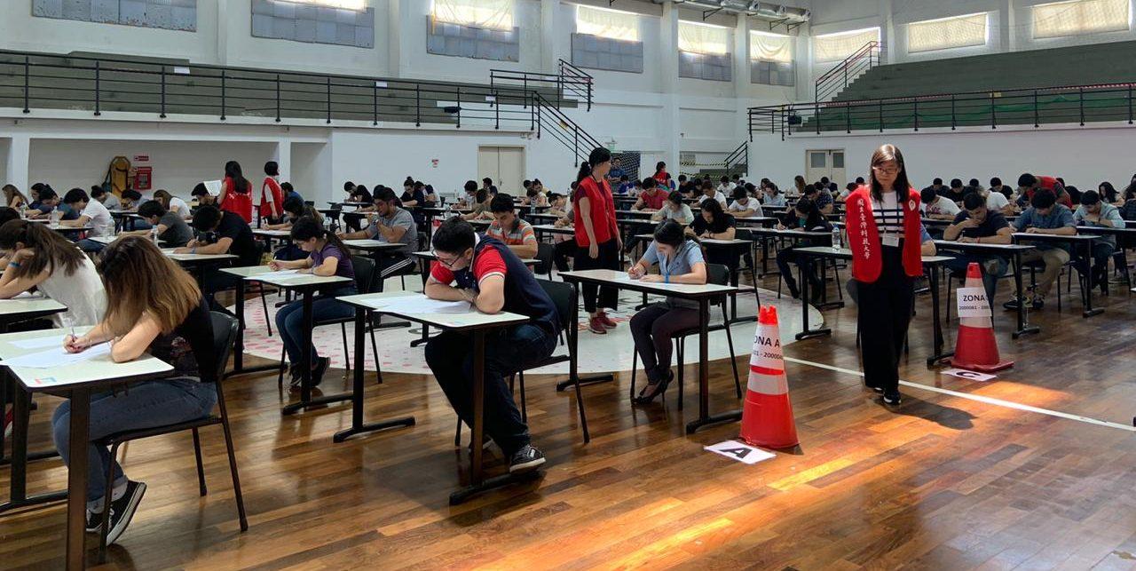 Se llevó a cabo el examen de admisión a la Universidad Politécnica Taiwán-Paraguay