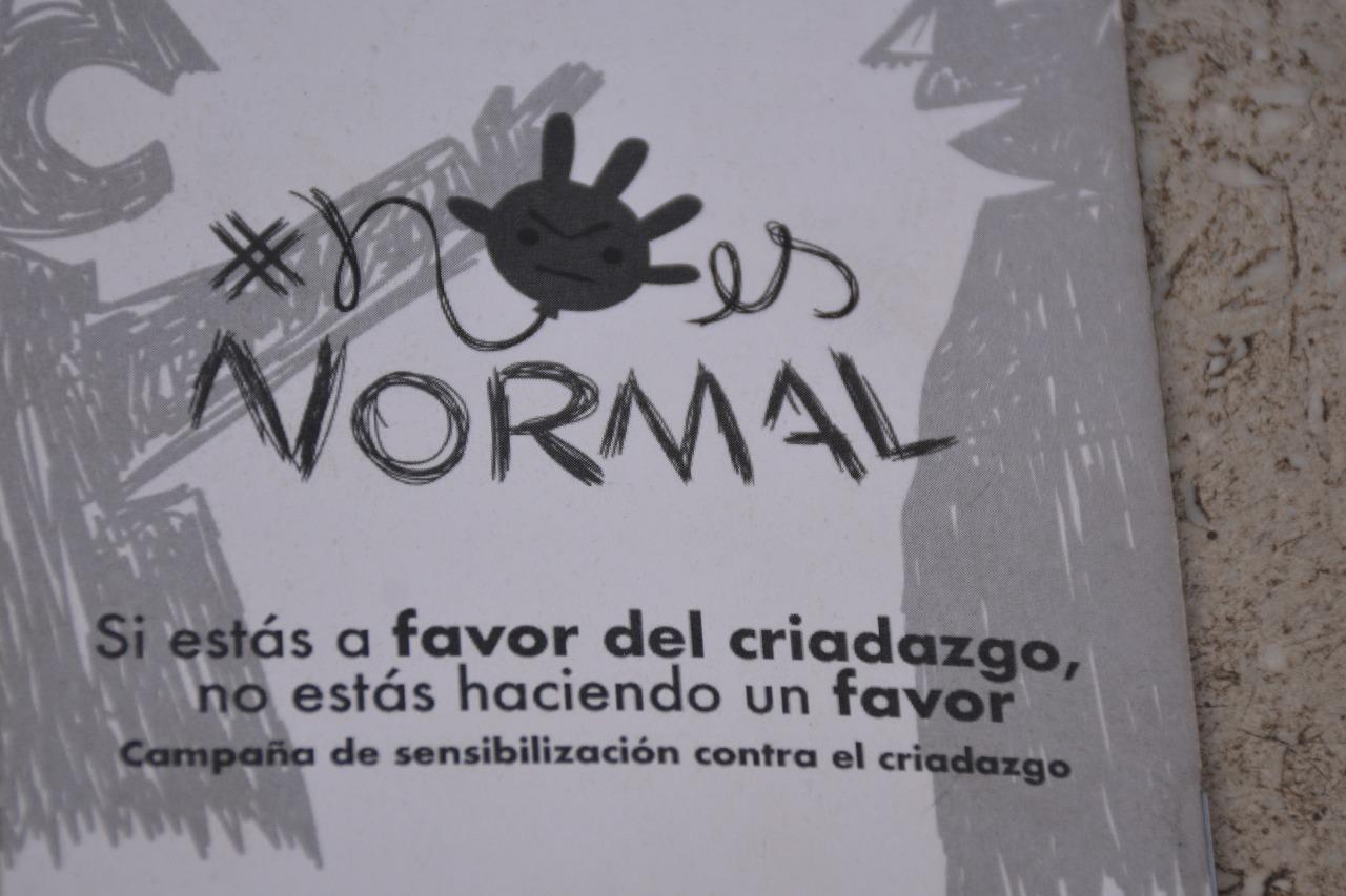 Lanzan campaña «El criadazgo #NoEsNormal» para desalentar la práctica en nuestro país