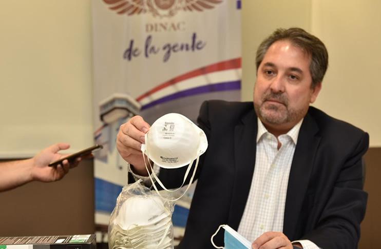 Fiscalía pide juicio oral para el exdirector de DINAC por el caso de sobre mascarillas
