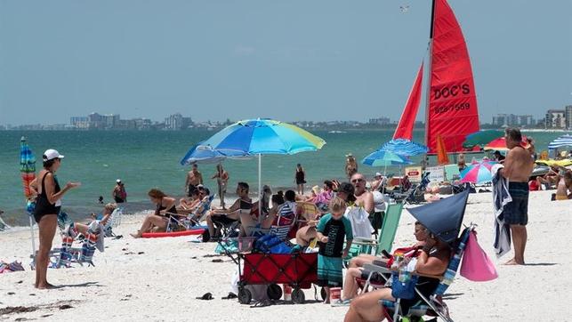 Florida supera los 47.000 casos de COVID-19 en medio de la reapertura en EE.UU.