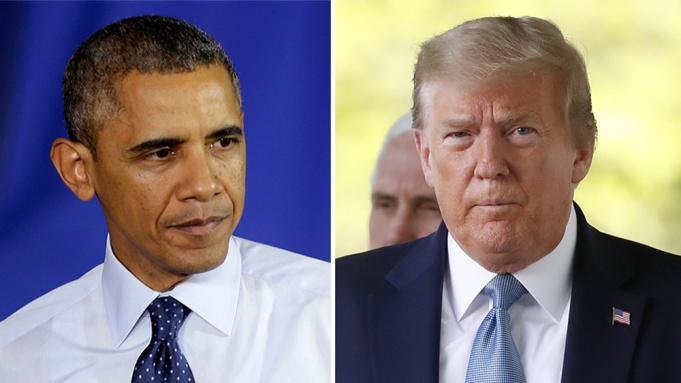 Trump se defendió de las críticas y fue duro con Obama