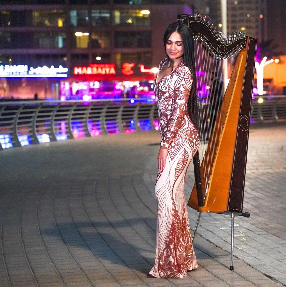 """Luz Verón: """"El arpa es un instrumento que gusta mucho en el mundo"""""""